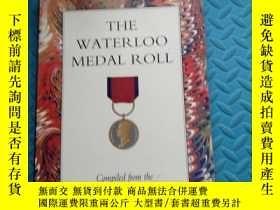 二手書博民逛書店the罕見waterloo medal roll 滑鐵盧獎牌榜Y6699