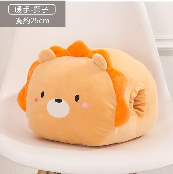 暖手枕 午睡枕 季可愛動物暖手枕 天療癒小物 可愛動物 母親節特惠