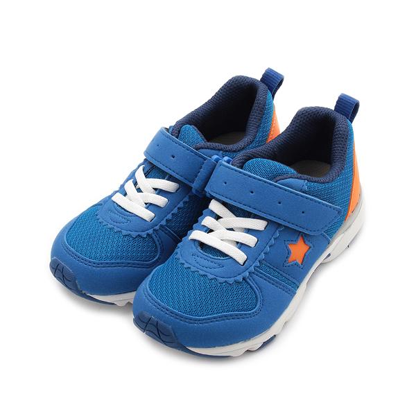 MOONSTAR CARROT 撥水機能運動鞋 深藍 MSC22575 中童鞋 鞋全家福