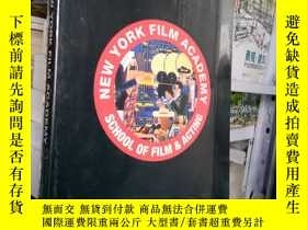 二手書博民逛書店NEW罕見YORK FILM ACADEMY【十品未開封】Y18