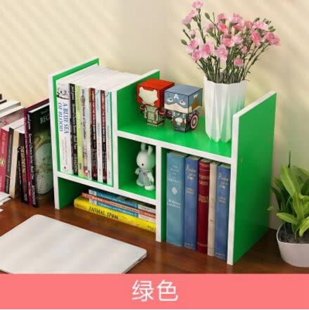 桌面小書架簡易桌上置物架簡約現代學生書櫃兒童書桌辦公桌收納架9(首圖款)
