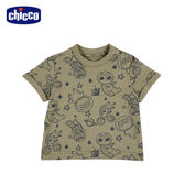 chicco-To Be Baby-短袖上衣-綠