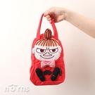 日貨Skater KNBD1 棉布手提袋 小不點造型- Norns 日本進口 Little My便當袋 野餐收納包