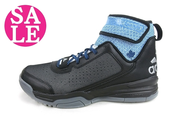 ADIDAS 成人男款 Dual Threat BB 籃球鞋 避震耐磨運動鞋M9302#黑 零碼出清