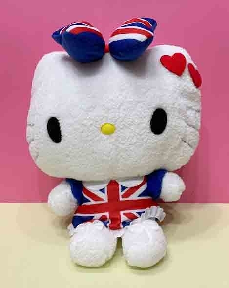 【震撼精品百貨】Hello Kitty 凱蒂貓~絨毛娃娃~英國*37216