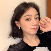 珍珠耳釘韓國氣質網紅耳環耳飾女耳夾無耳洞高級感簡約小巧耳釘 極簡雜貨