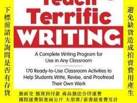 二手書博民逛書店Teach罕見Terrific Writing, Grades 4-5Y255562 Muschla, Gar