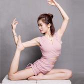 速乾綁帶高彈瑜伽背心性感露臍健身上衣透氣運動瑜伽服女「伊衫風尚」