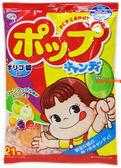 【吉嘉食品】不二家POP棒棒糖(21支入) 每包68元,日本進口,另售固力果米奇棒棒糖{4902555125589}[#1]