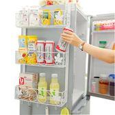鐵藝冰箱掛架側壁掛冰箱架廚房置物架收納架冰箱側邊調味架 黛尼時尚精品