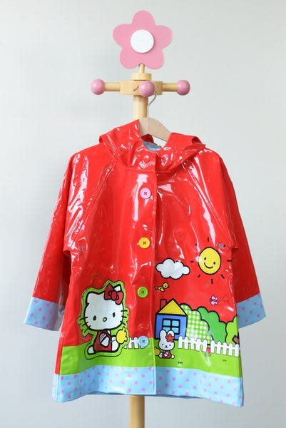 兒童雨衣 / 凱蒂貓 Hello Kitty 紅色童話兒童雨衣 Western Chief Red Hello Kitty Scenic Raincoa