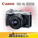 補貨中 Canon EOS M6 +15-45mm 單鏡組 晶豪泰3C 專業攝影 平輸