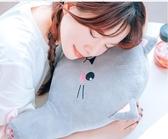 毛絨玩具 卡通抱枕辦公室椅子靠背腰枕孕婦護腰墊夏季汽車載用座椅靠墊 JD  伊蘿精品