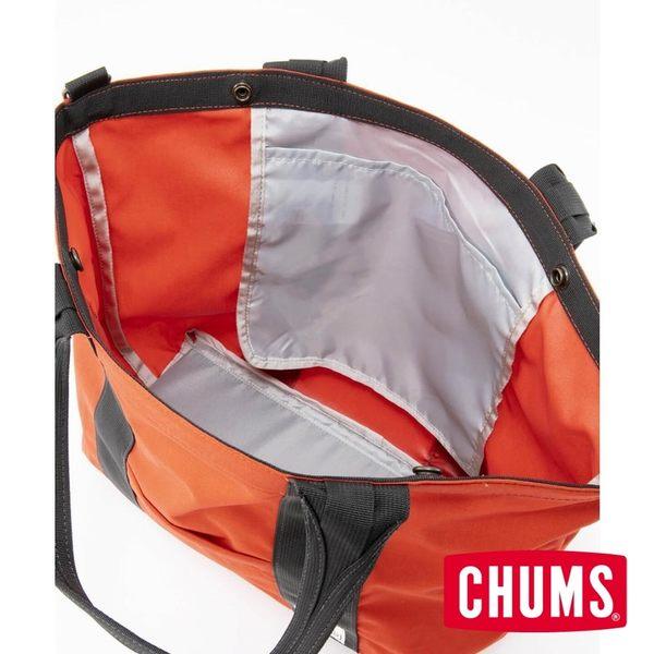 CHUMS 日本 Bozeman Camper 托特包 M 紅色-CH602567R001