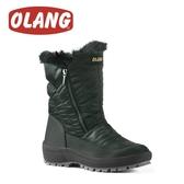 【OLANG 義大利 MONICA OLANTEX 雙拉鍊防水雪靴《鐵灰》】1604/保暖/滑雪/雪地