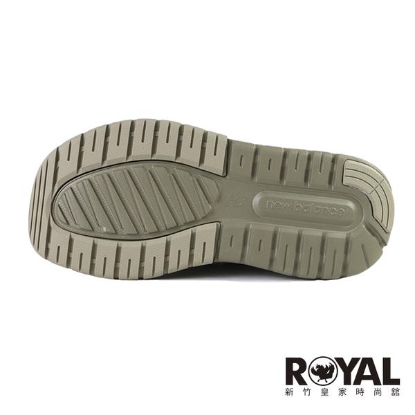 New Balance 卡其綠 機能 厚底 護趾 穩定 涼鞋 男女款 NO.H3595【新竹皇家 SD4205KA】