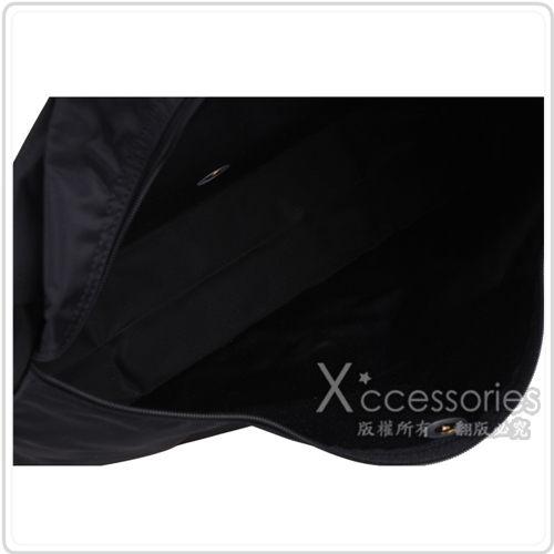 Longchamp 摺疊萬用手提公事包(黑)