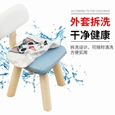 兒童實木小凳子靠背家用矮凳寶寶時尚創意椅子防滑客廳換鞋小板凳 璐璐生活館