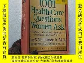 二手書博民逛書店1001罕見Health-Care Questions Wome