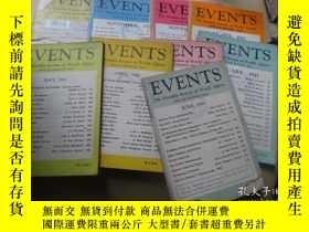 二手書博民逛書店events罕見the monthly review of wo