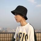 帽子男潮純色漁夫帽男士酷四季防曬遮陽帽日系韓版時尚嘻哈盆帽男 3C優購