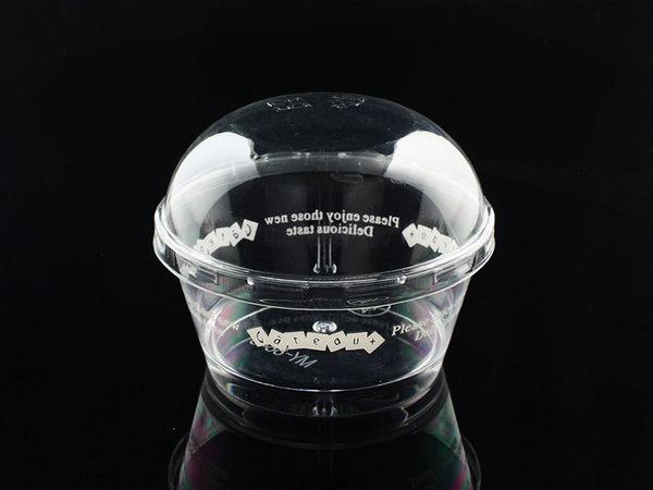 10入 130cc 冰淇淋杯 冰沙杯杯 幕斯杯 奶酪杯 附蓋  G8843