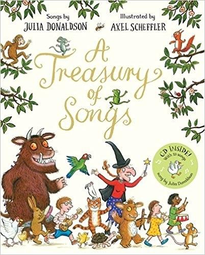 《Julia Donaldson 有聲作品合輯》A TREASURY OF SONGS /平裝+CD