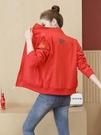 外套女 外套女短款棒球服春秋季新款韓版時尚寬鬆運動休閒百搭夾克潮 星河光年