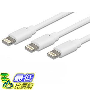 [美國直購 iphone 認證線3入裝] Budget&Good 3 Pack 6 Ft Long Lightning to USB Data Transfer Charging and Syncing Cable
