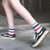 長襪子女韓版中筒襪學院風日系原宿風百搭夏季薄款運動襪潮流個性 韓幕精品
