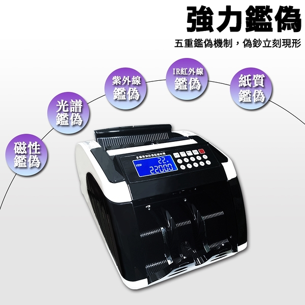 大當家 BS-5300台幣銀行專用點驗鈔機~仟元加強鑒偽