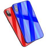 蘋果x手機殼新款iPhonex抖音同款iphone7玻璃套8plus防摔6s女男軟