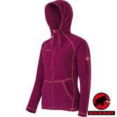 【MAMMUT 長毛象】女 Polartec® Themal Pro 機能刷毛保暖外套 胭脂紅 1010-12300