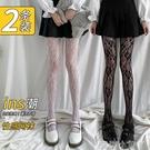 白色絲襪女夏季漁網襪蕾絲薄款網紅ins潮白絲防勾絲黑色絲襪春秋 蘿莉新品