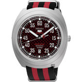 SEIKO 精工 5號盾牌23石限定機械錶-紅 4R35-01M0R(SRPA87J1)