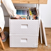 塑料收納箱特大號家用書籍收納盒整理箱衣服宿舍學生衣櫃收納神器 WD 小時光生活館