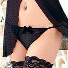 透氣丁字褲(48016005)-黑-M