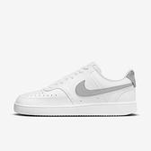 Nike Wmns Court Vision Low -07 [CD5434-111] 女鞋 運動 休閒 經典 白 灰