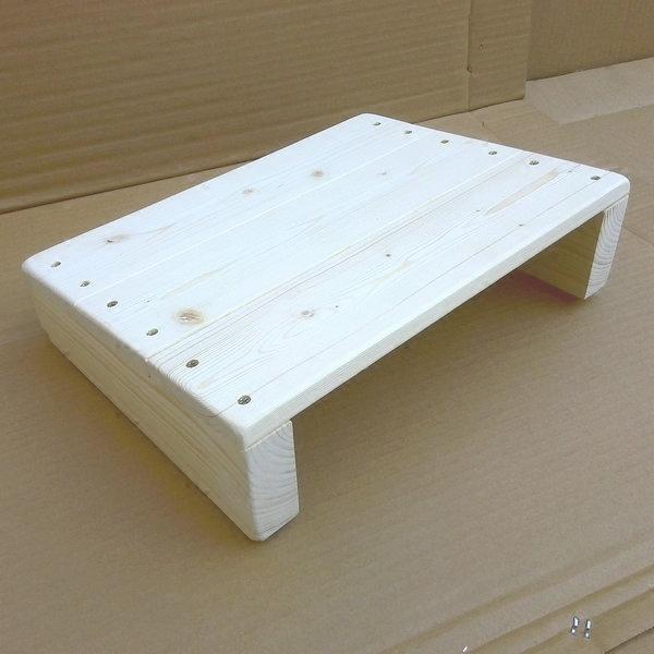 簡約實木腳踏學習辦公桌專用搭腳板斜坡擱腳板門檻踏板踮腳板凳 樂活生活館
