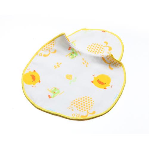 【奇買親子購物網】黃色小鴨紗布餵奶兜(2入)