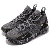 Nike 籃球鞋 Zoom KD11 EP Metallic Gold 黑 金 11代 React 運動鞋 男鞋【PUMP306】 AO2605-901