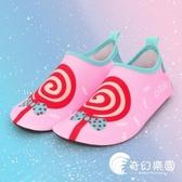 沙灘鞋-沙灘襪鞋寶寶女游泳溯溪潛水浮潛鞋軟底貼膚鞋防滑防刺-奇幻樂園