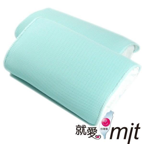 【微笑MIT】自然風/村林欣-節能透氣防蹣帎頭套(水藍/2入)