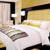 【法式寢飾花季】優雅生活-五星級飯店加大平紋床包(雙人被套+加大床單+枕套x2)