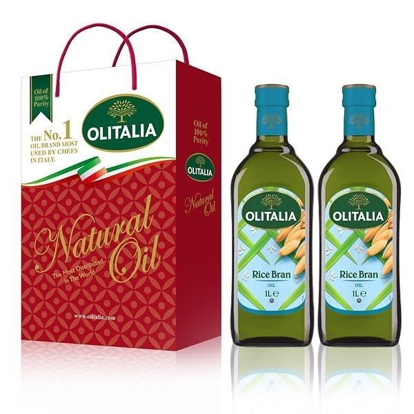 【南紡購物中心】Olitalia奧利塔-玄米油禮盒(2罐/組)2組