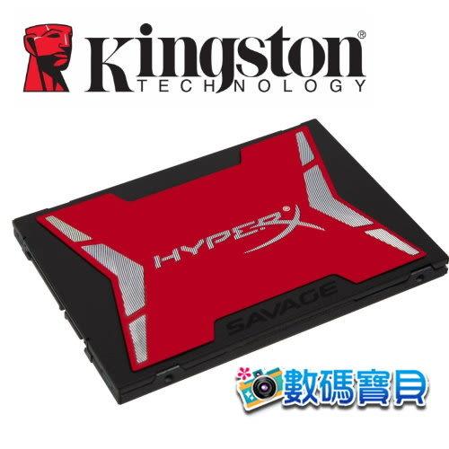 【免運費】 KingSton 金士頓 HyperX Savage 480GB SSD 2.5吋固態硬碟(560MB/s,公司貨三年保固,SHSS37A/480G) 480g