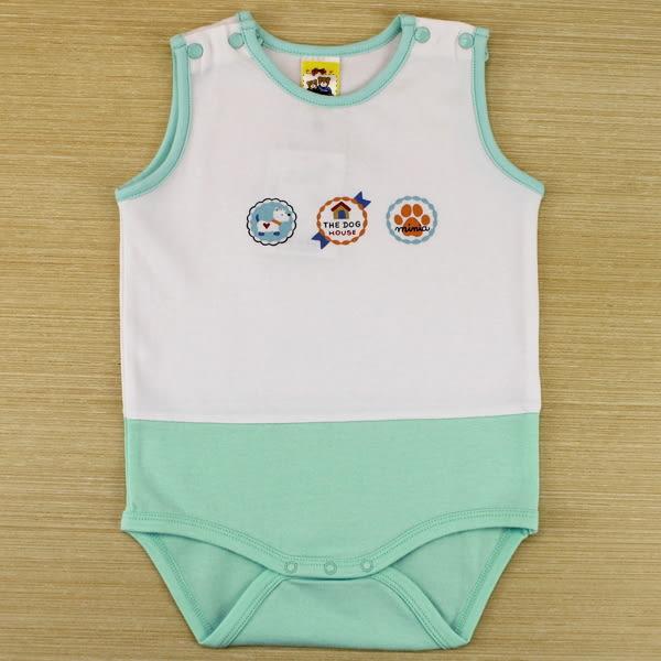 【愛的世界】清涼圓領背心連身衣/6M~2歲-台灣製- ★幼服推薦 超值特惠
