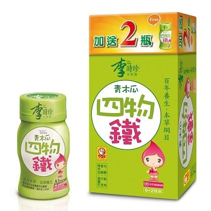 李時珍-青木瓜四物鐵飲品(6+2入)