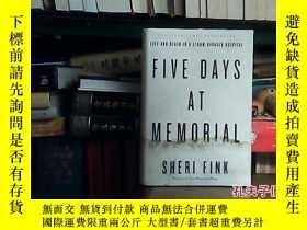 二手書博民逛書店five罕見days at memorial(毛邊書)19072