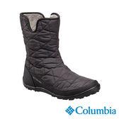 Columbia 女 防水保暖雪鞋-黑色 【GO WILD】